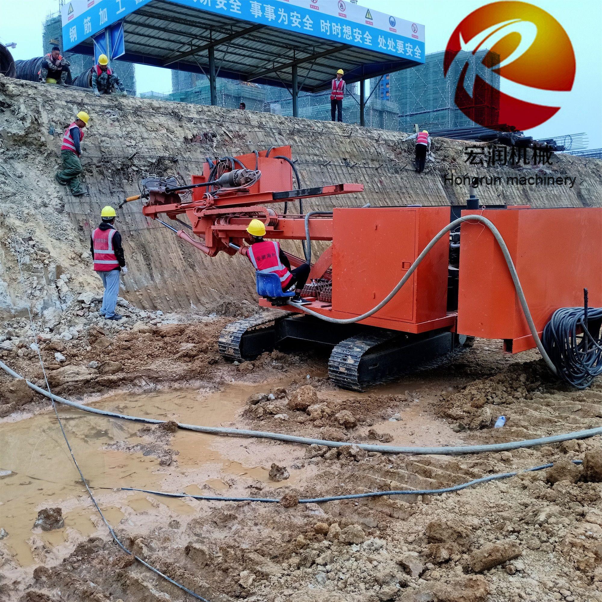 现货直销高边坡支护钻机 多功能护坡锚固钻机