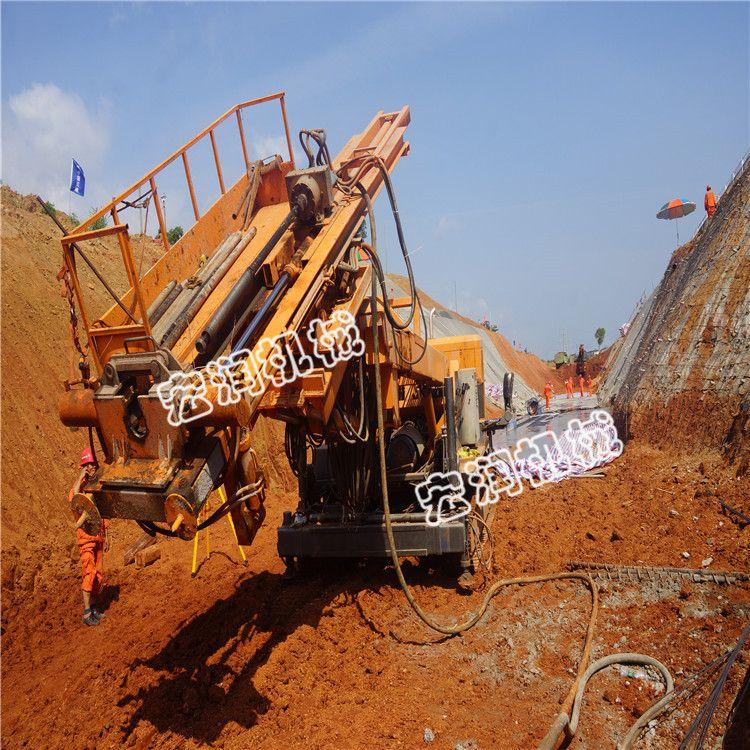 能打石头的护坡锚固钻机 基坑支护锚杆钻机多少钱