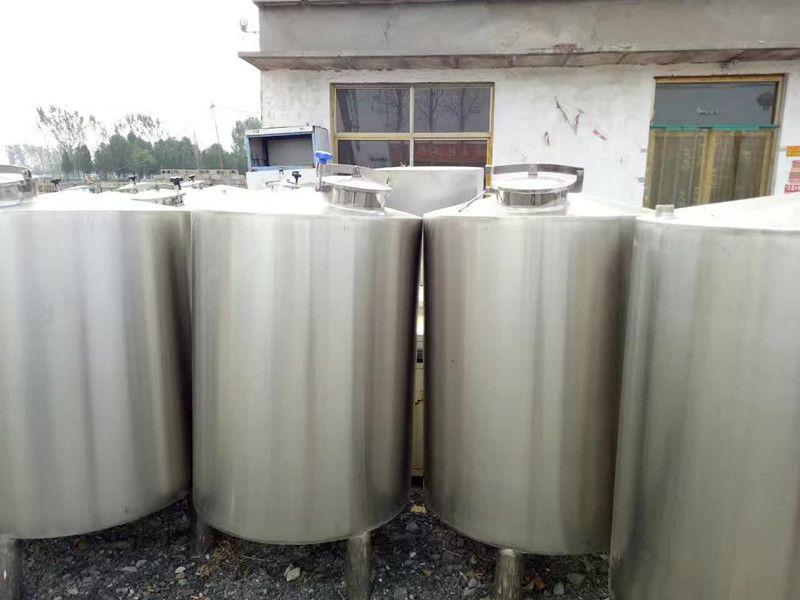 定制全新酒精储罐 不锈钢304材质工业食品乳品储罐