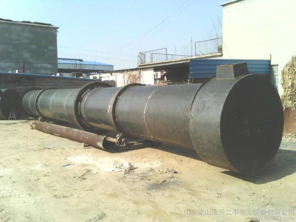 厂家出售大齿轮有机肥烘干机 高水分物料滚筒烘干机