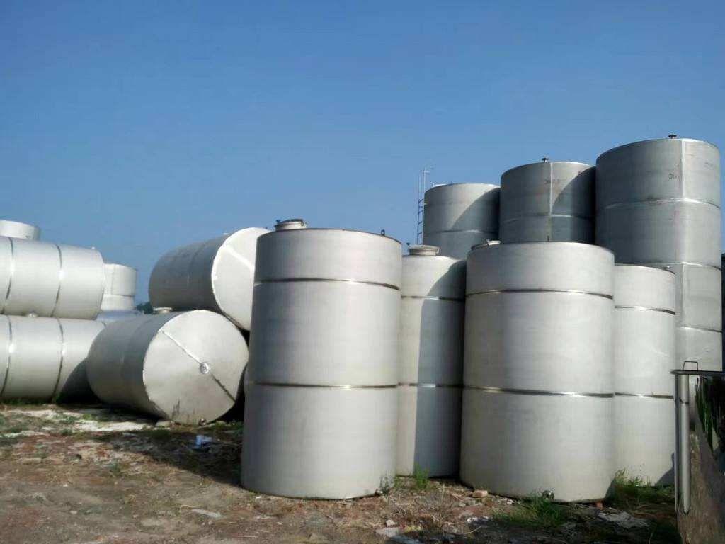 定做全新大型卧式不锈钢储水罐 不锈钢304材质工业食品乳品储罐