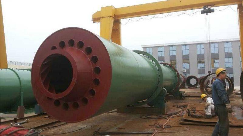 定制全新工业用大型滚筒沙子烘干机 大型三回程烘干机
