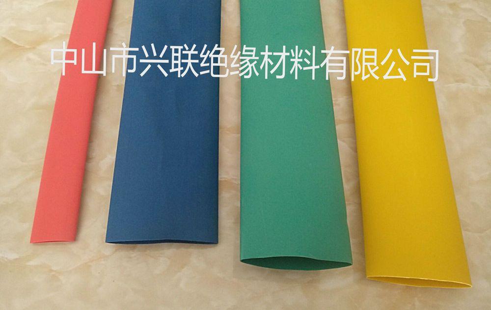 3倍环保彩色带胶双壁热缩套管