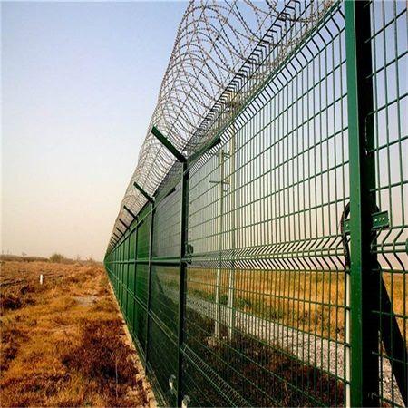 机场低碳铁丝围网-机场Y型围网-机场围网