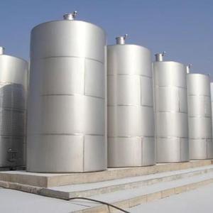 加工订制不锈钢304材质工业食品乳品储罐 30立方不锈钢卧式储油罐