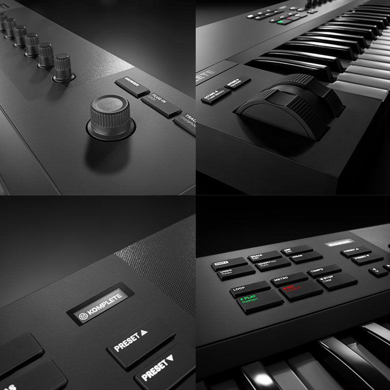 音乐编曲设备,midi键盘,电子音乐打击垫,德国NI