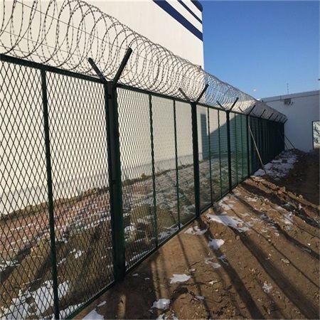 铁丝隔离网-铁丝网-监狱铁丝网