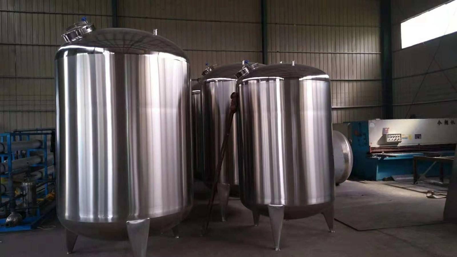 定做全新多功能食品搅拌罐 2吨不锈钢固定式真空搅拌罐