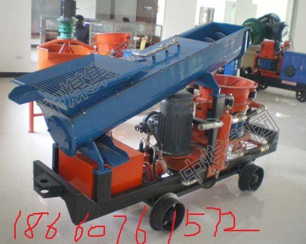 直供 出料畅通省时的PC9I型转子式混凝土喷射机