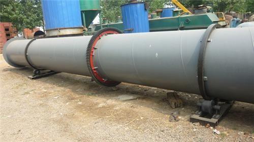 专业定做工业用大型滚筒沙子烘干机 大齿轮有机肥烘干机