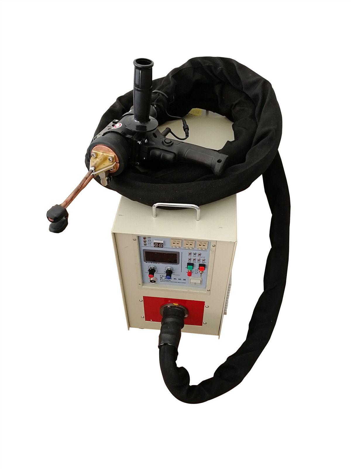 壓縮機銅鐵管件焊接用手持高頻釬焊焊接設備