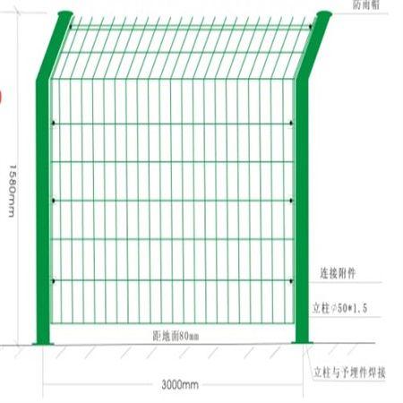 铁丝护栏-双边丝护栏-隔离网围栏
