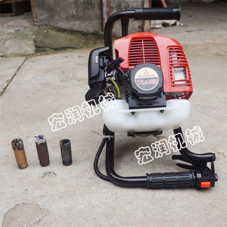 新款便携式岩心背包钻机价格 轻便式勘探背包钻机