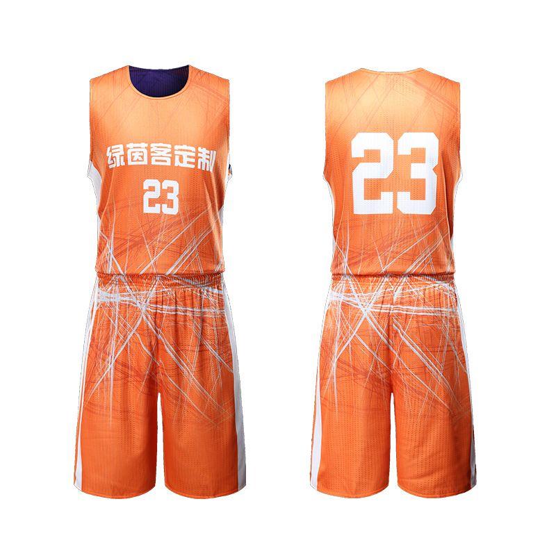 篮球服套装定制大学生蓝球队服夏季新款球衣