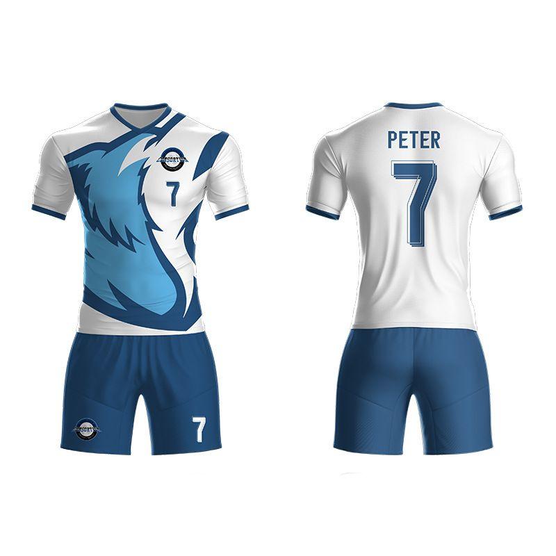 足球服DIY定制大學生足球隊服夏季新款球衣