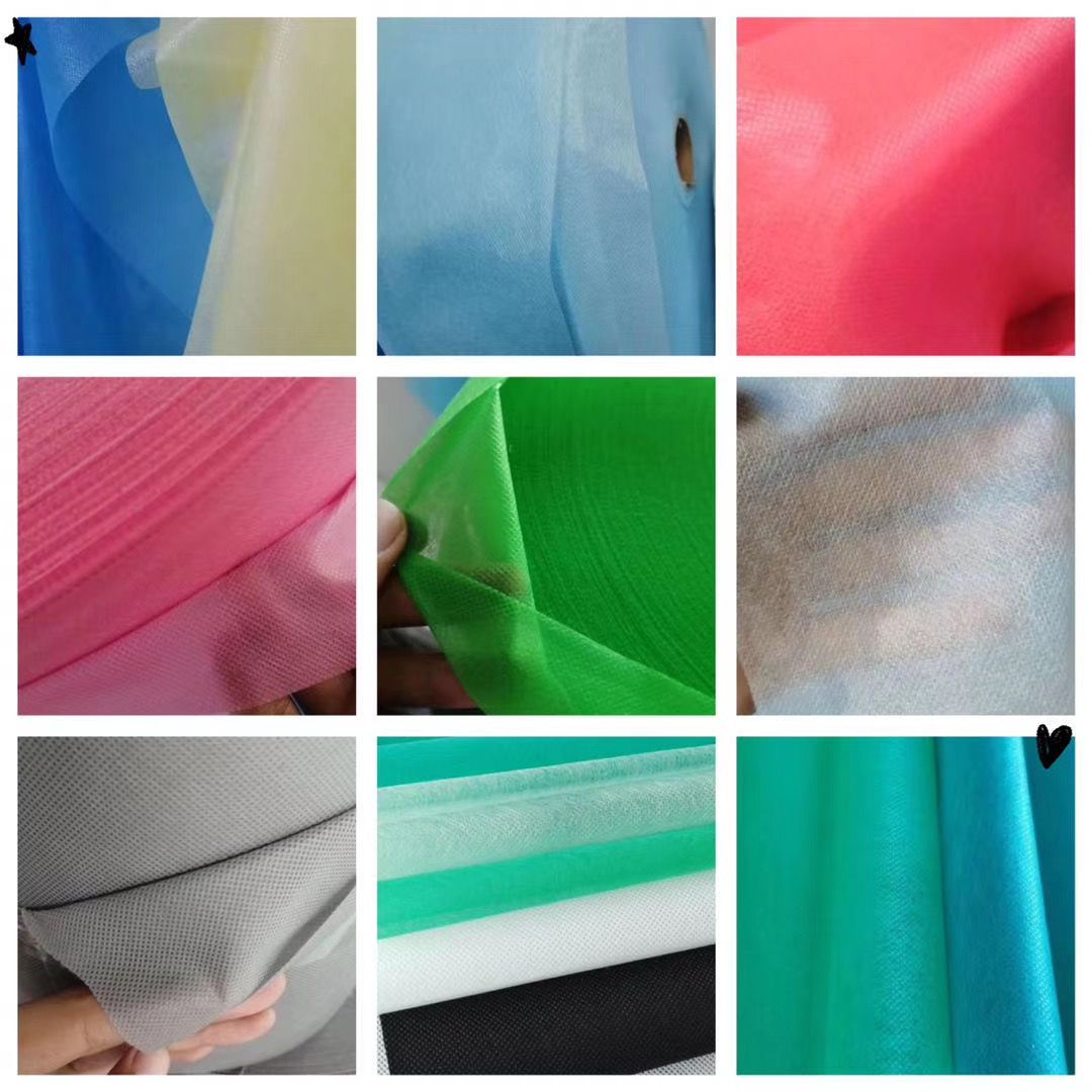 現貨廠家直銷各色各型號價惠物佳的一次性平面口罩材料無紡布