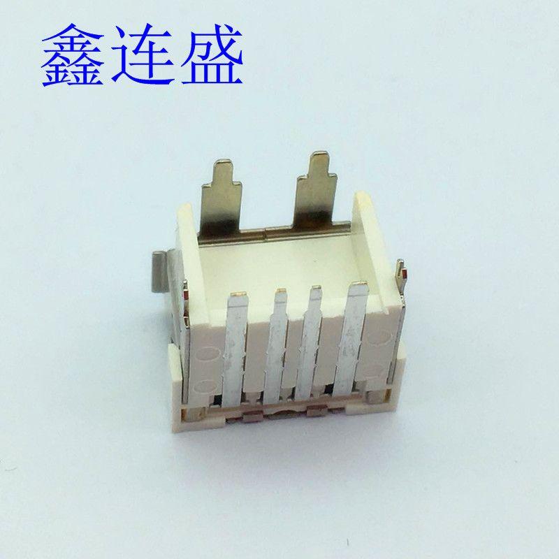USB母座大电流短体10.8mm加高H9.7mm快充