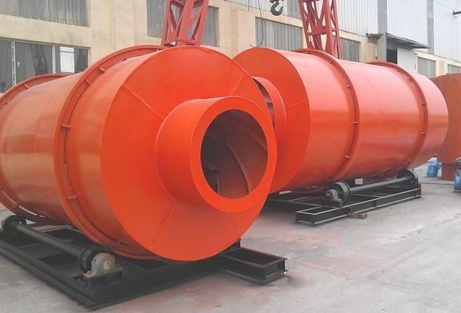 定制全新大型工业滚筒矿粉烘干机 小型电加热烘干机