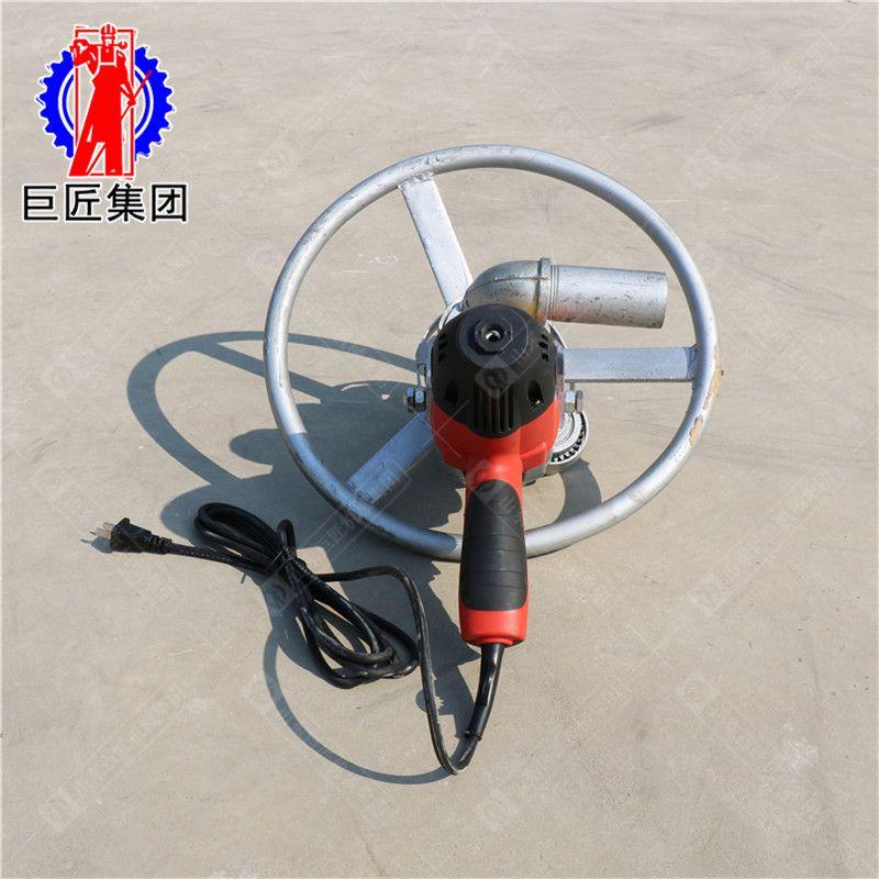 厂家直销SJD-2A便携式电动打井机 100米小型水井钻机视频