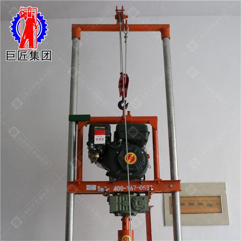 山东巨匠直销SJQ型汽油打井机 民用小型汽油钻井机厂家
