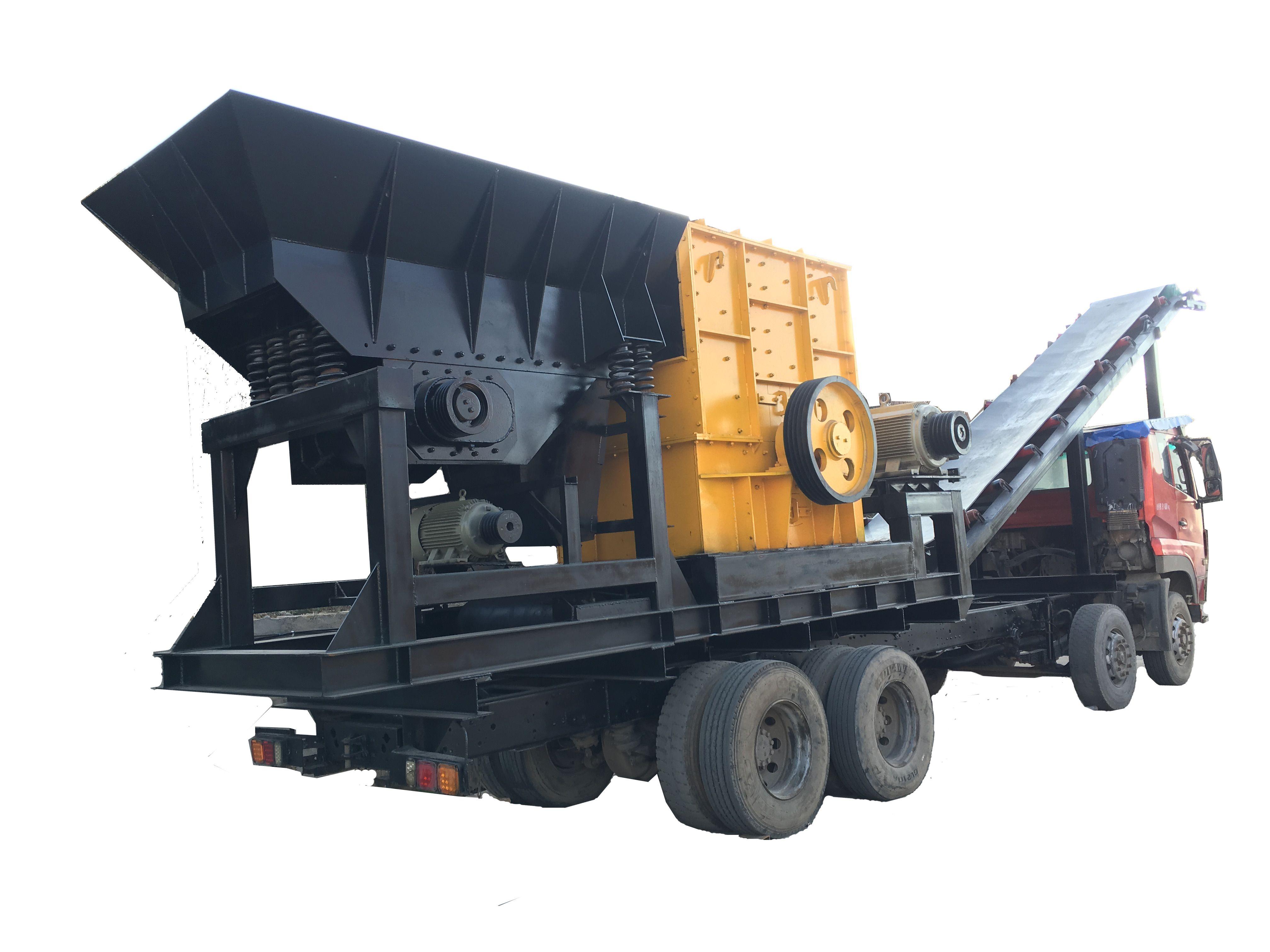 移动打石设备 流动碎石机移动磕石机 移动破碎机厂家