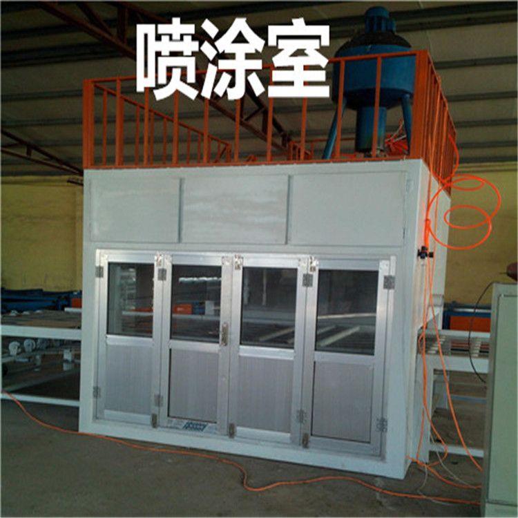 喷涂室价格外墙保温装饰板冷压机一体板设备厂家