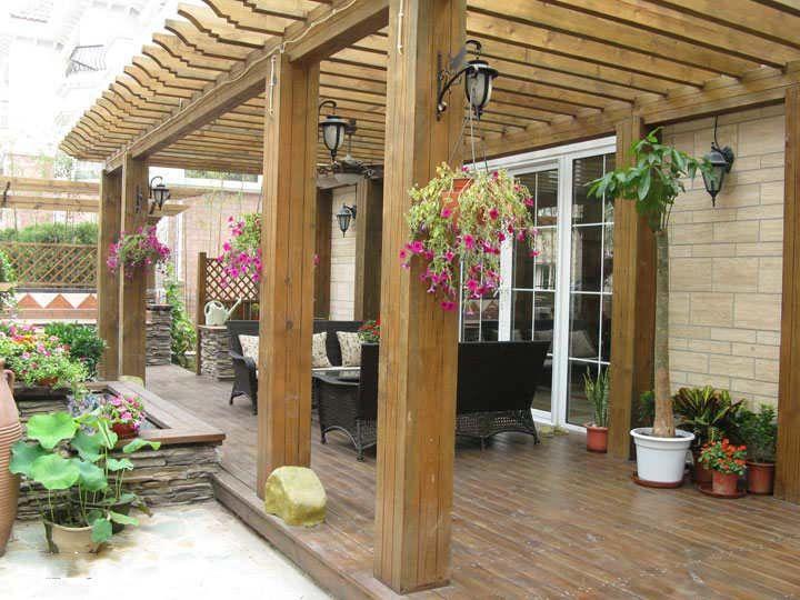 阜阳良筑景观工程有限公司私家庭院设计施工