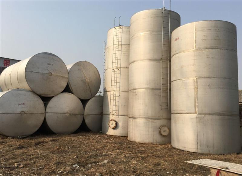 加工定制大型酸堿化工儲罐 立式牛奶飲料儲罐
