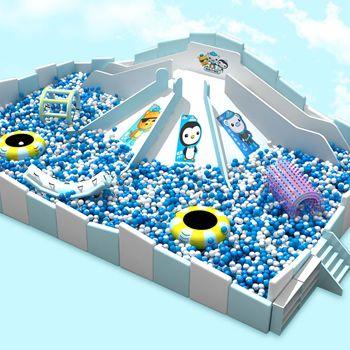 湖北百万球池滑梯供应