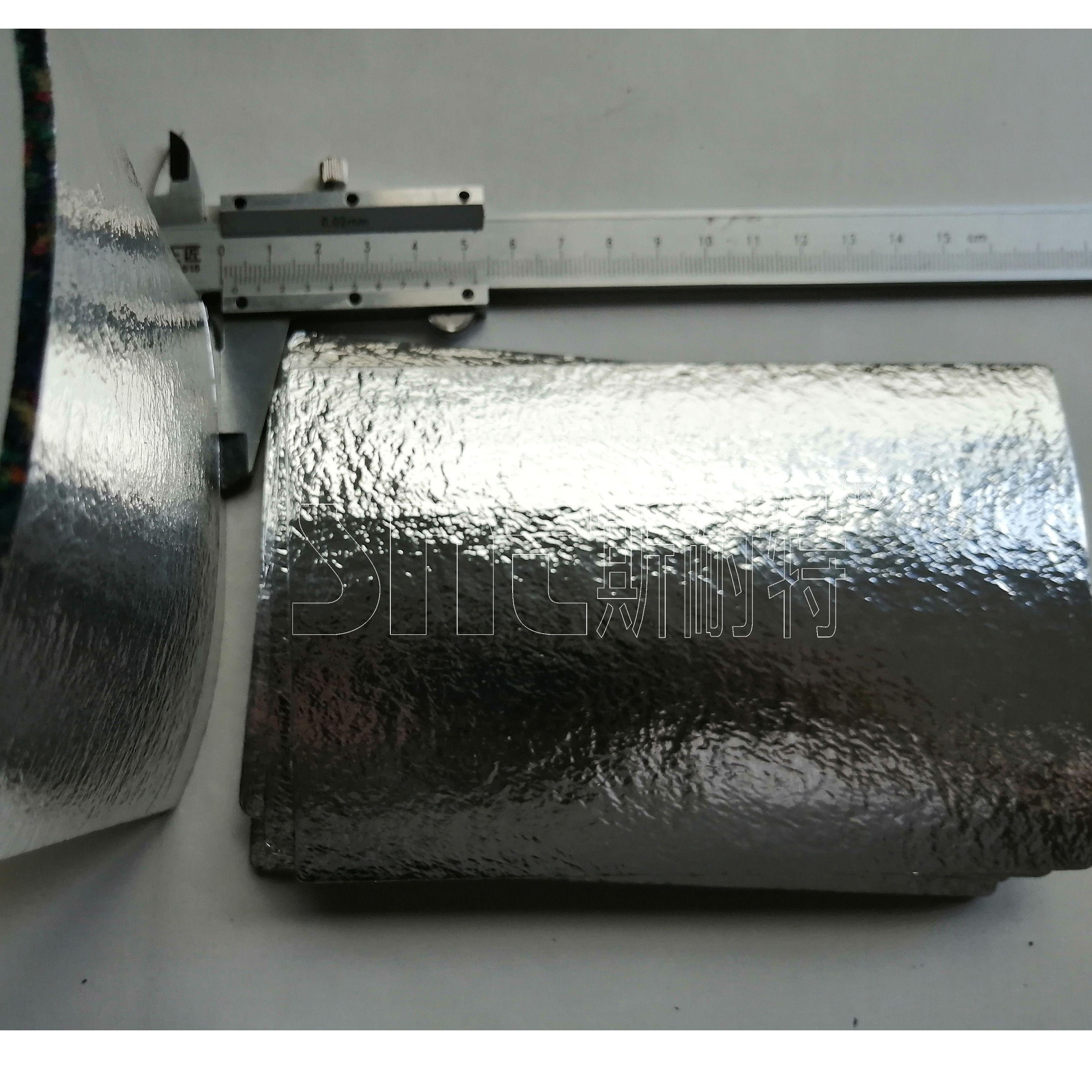3mm聚氨酯橡膠隔音墊+鋁膜款 斯耐特 止震隔音墊 橡膠隔音墊配方設計