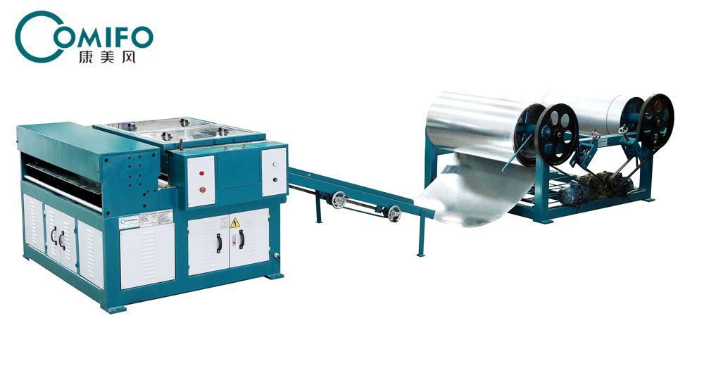 广州康美风风管生产一线 风管生产线 风管加工设备 厂家直销