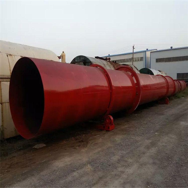 厂家定制三回程不锈钢石英砂烘干机 河沙煤泥滚筒烘干机