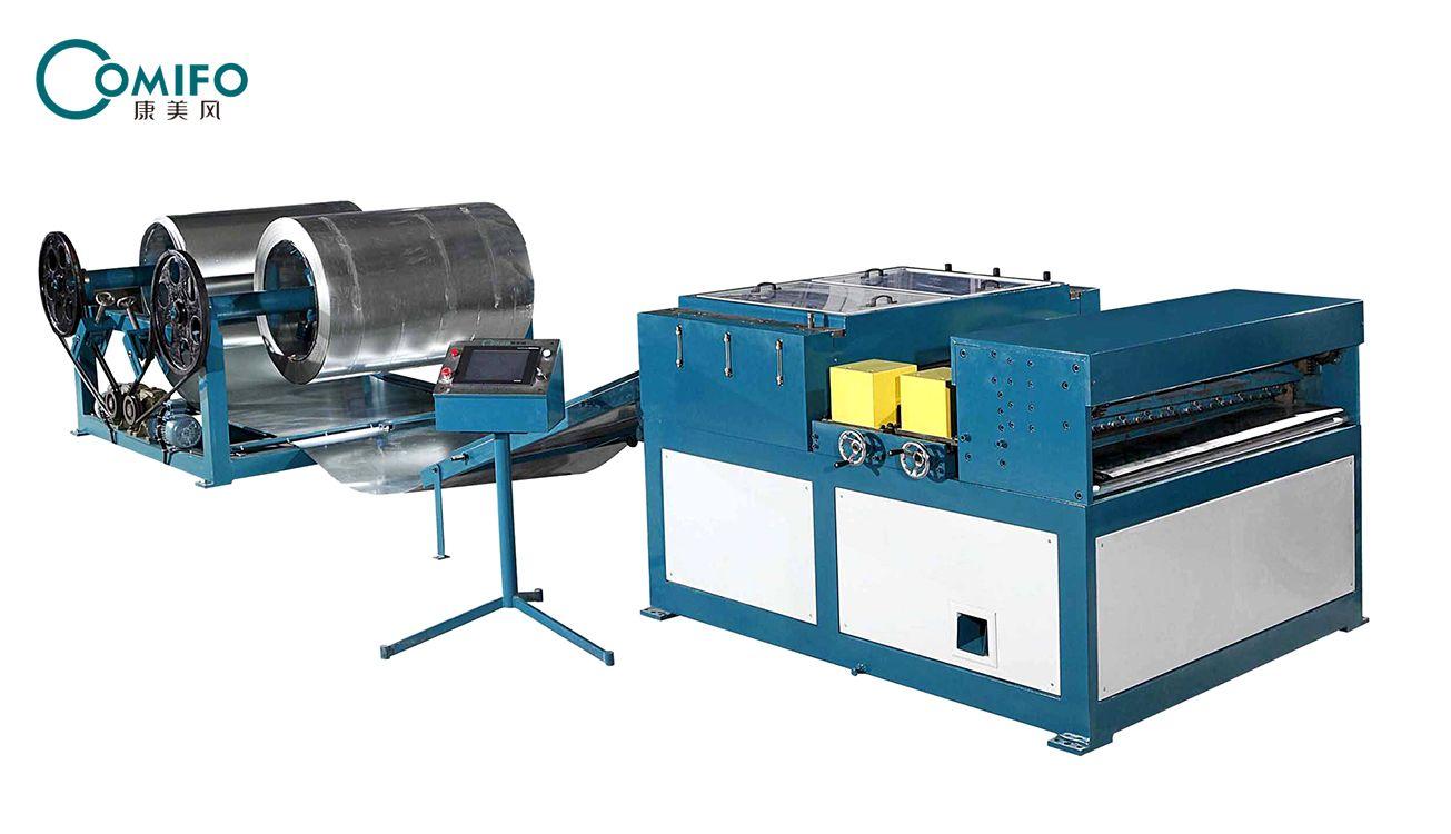 广州康美风风管生产二线 风管生产线 风管加工设备 厂家直销