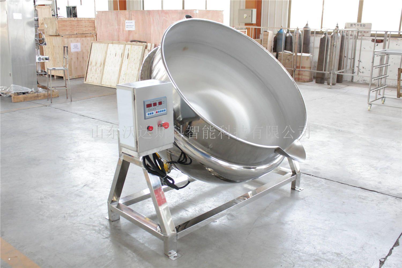 高节能燃气夹层锅 可倾蒸汽汤锅 蒸汽夹层锅生产商