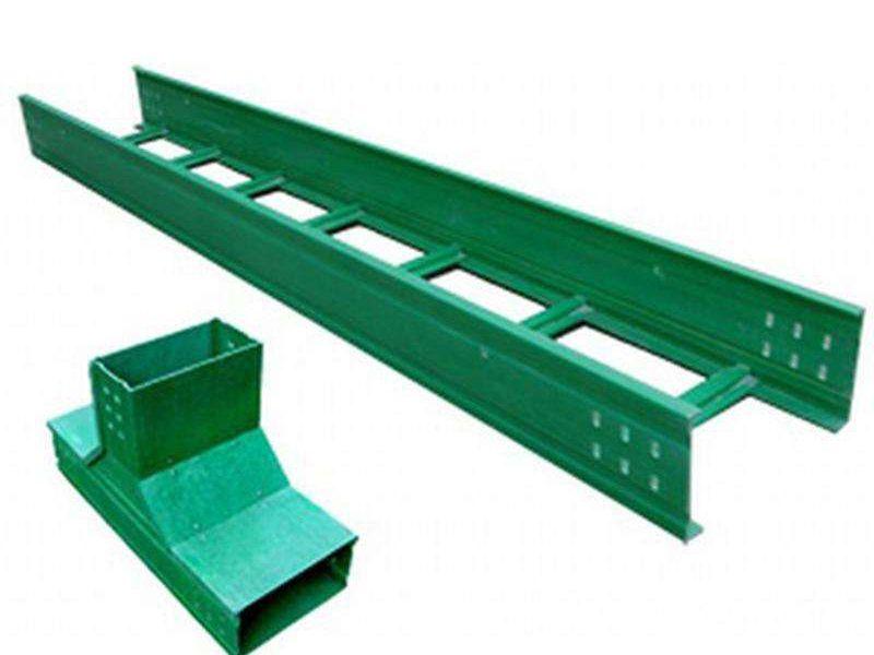 玻璃钢200梯式桥架销售