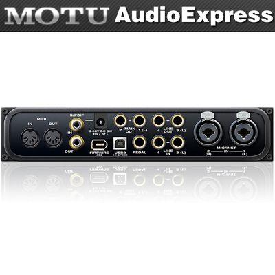 MOTU/马头 Audioexpress 6进6出音频接口声卡