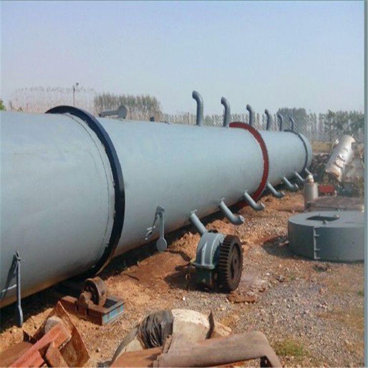 加工定制工業用大型滾筒沙子烘干機 大型三回程烘干機