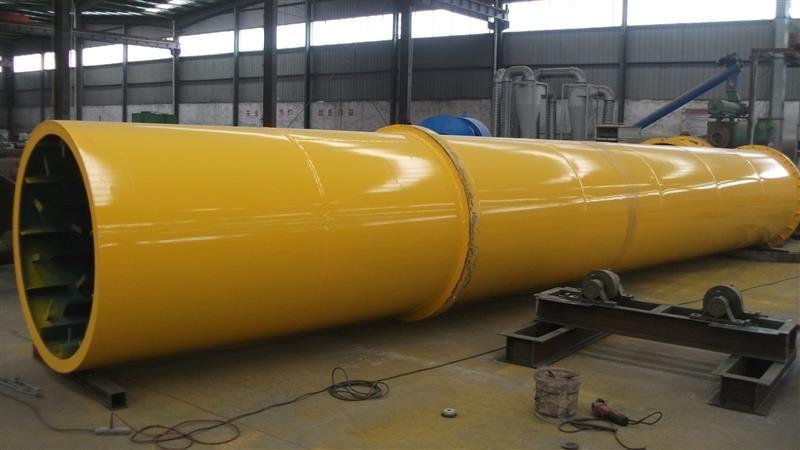 定制全新煤电两用化肥料滚筒烘干机 果渣三回程烘干机