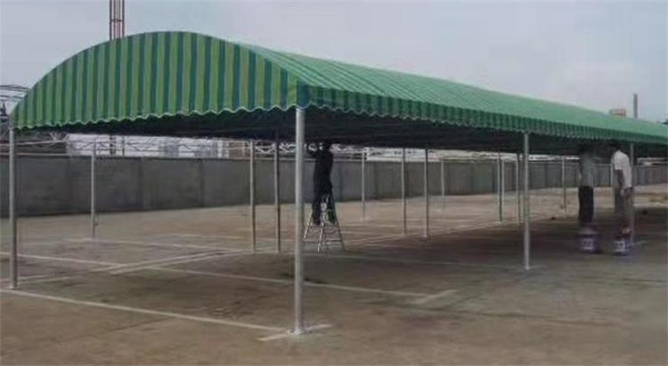 济南伸缩推拉活动防雨帐篷伸缩防雨棚活动防雨棚定做