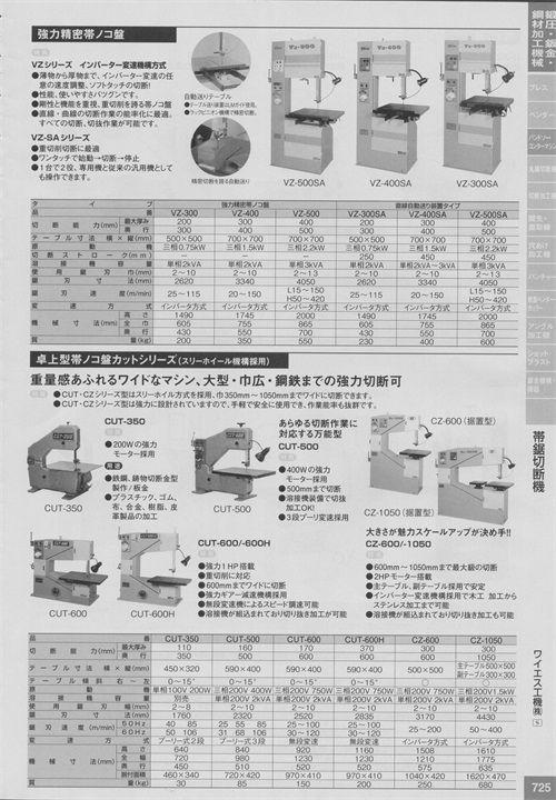 ワイエス工機(株)YSkoki带锯切断机