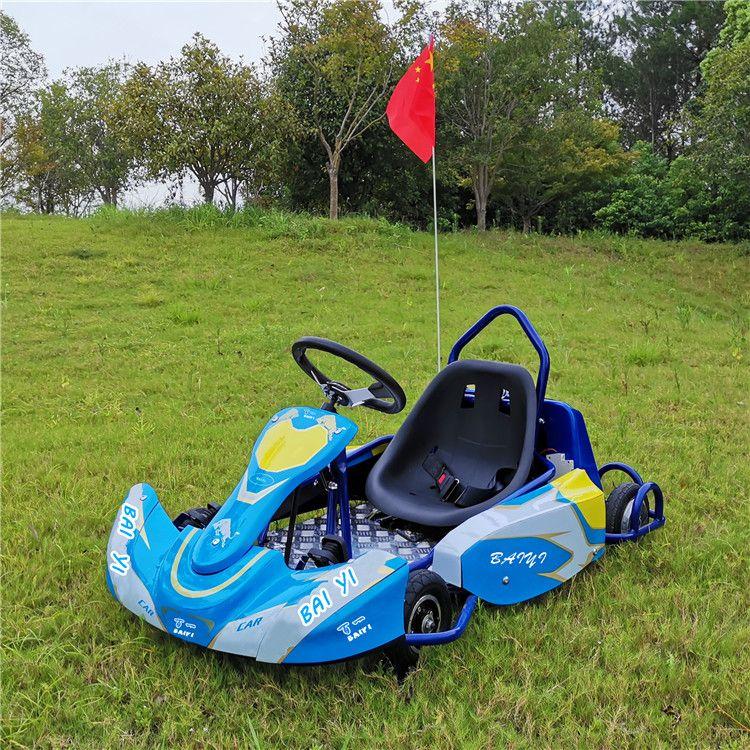 儿童卡丁车 游乐设备 赛道竞技卡丁车