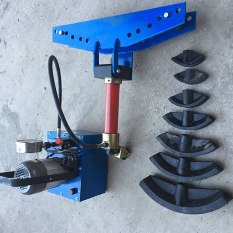 小型镀锌管子折弯机 整体式管子弯管机 多功能分体式弯管机