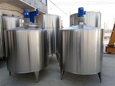 订制全新2吨不锈钢固定式真空搅拌罐 不锈钢电动搅拌罐