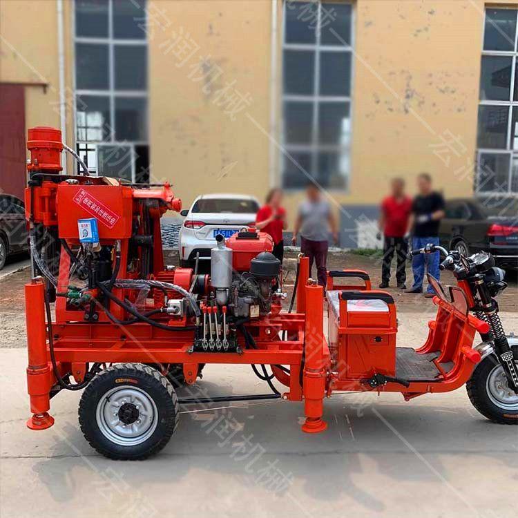 煤矿坑道钻机价格 地质钻机岩心钻机 三轮式液压坑道钻机