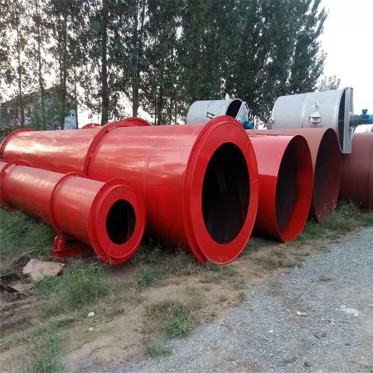 厂家出售煤电两用化肥料滚筒烘干机 工业用大型滚筒沙子烘干机