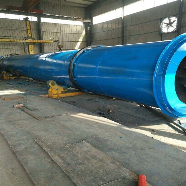 厂家定做高水分物料滚筒烘干机 大齿轮有机肥烘干机