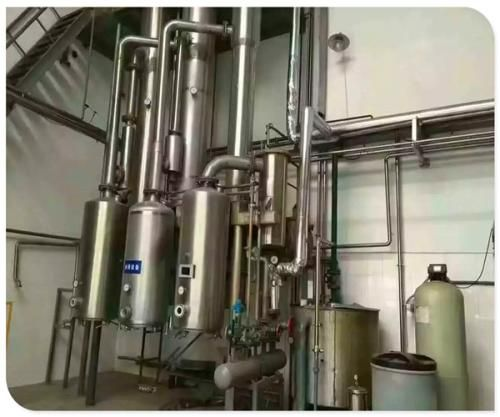 定做全新降膜低温浓缩蒸发器 乳品用浓缩蒸发器