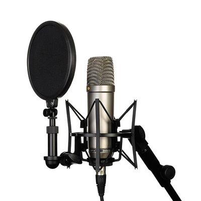 罗德 RODE NT1-A 大震膜录音电容话筒NT1A麦克风人声乐器