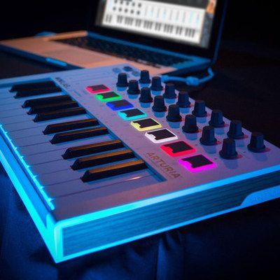 Arturia MiniLab KeyLab 25专业编曲MIDI键盘音乐控制器