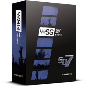 Wa ves11 SD7 Pro Show套装 录音编曲制作 后期混音